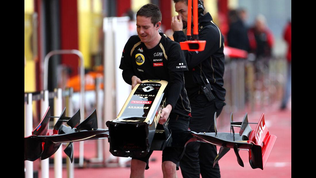 Lotus - Formel 1-Test - Mugello - 3. Mai 2012
