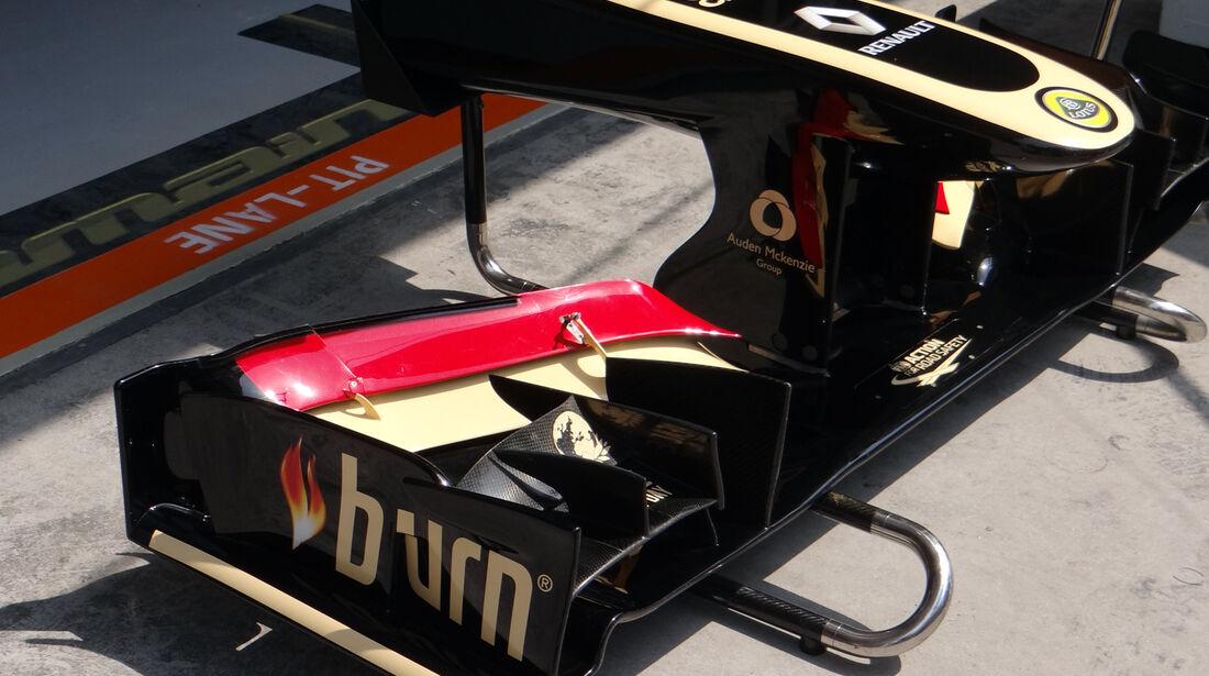 Lotus Frontflügel - Formel 1 - GP China - 12. April 2013