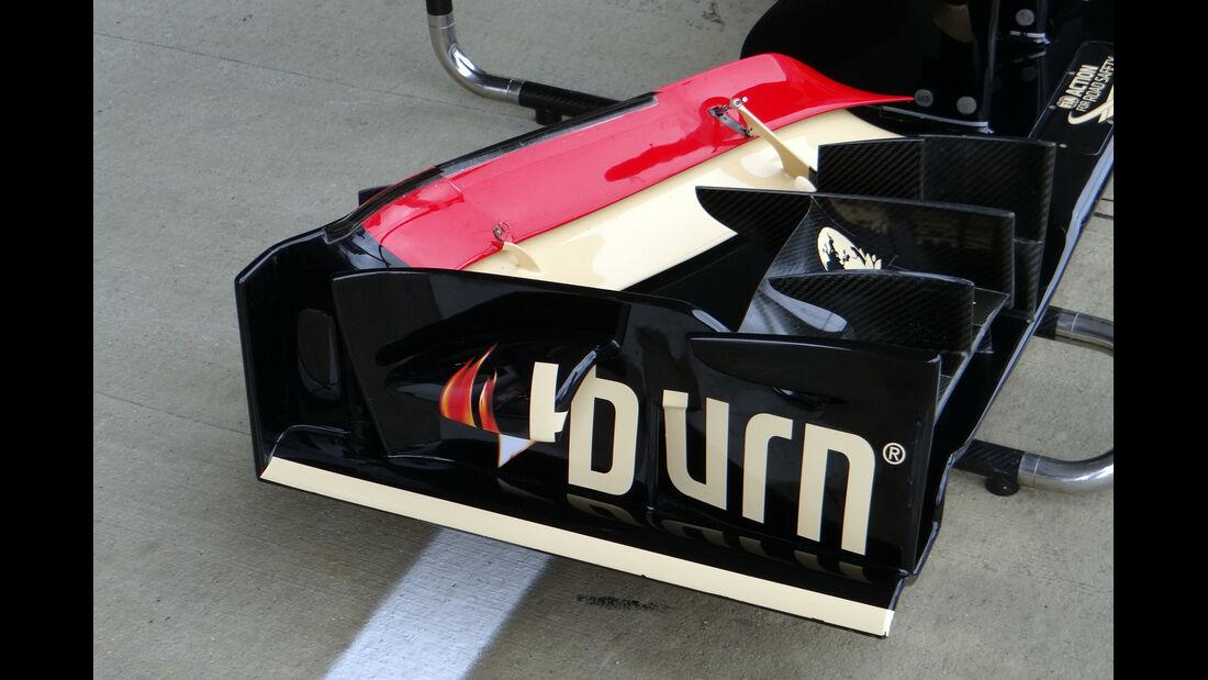 Lotus Frontflügel - Formel 1 - GP England - 28. Juni 2013