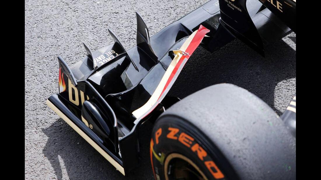 Lotus Frontflügel - Formel 1 - GP England - 29. Juni 2013