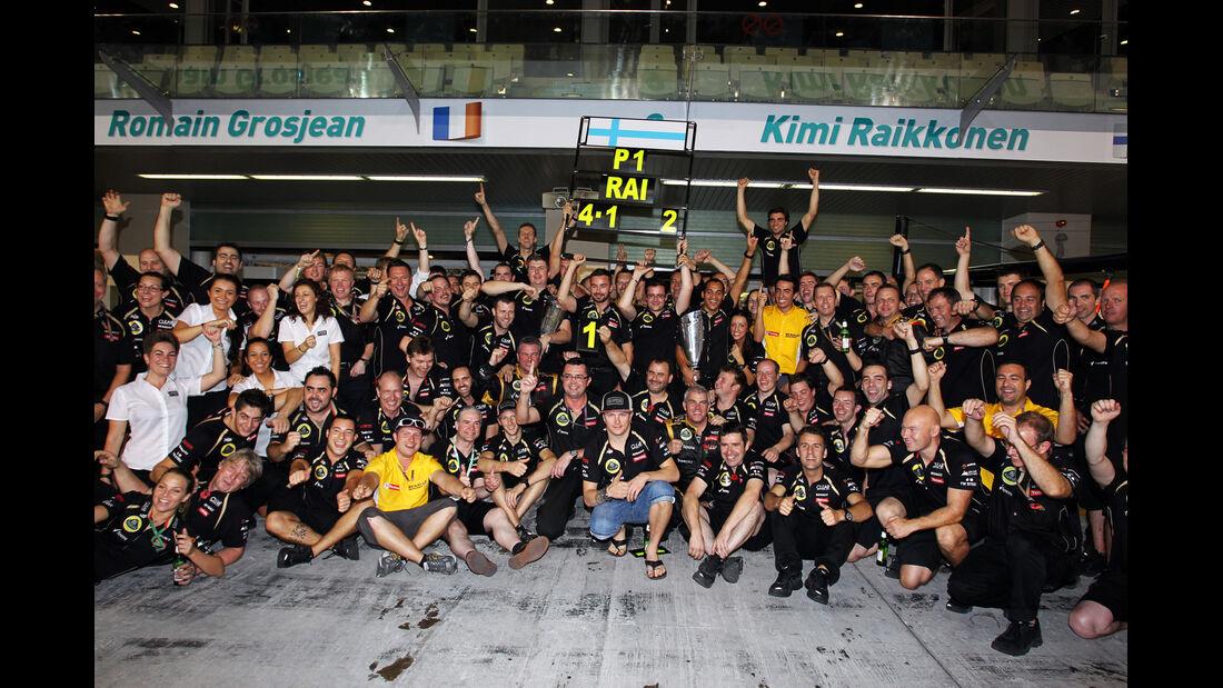 Lotus GP Abu Dhabi 2012