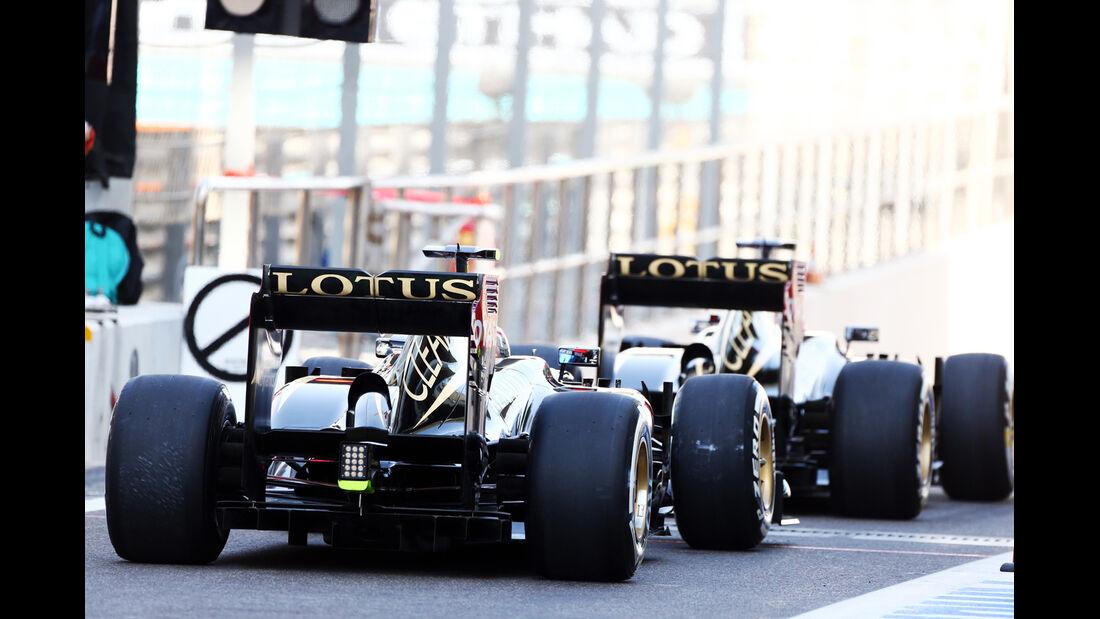Lotus - GP Abu Dhabi 2013