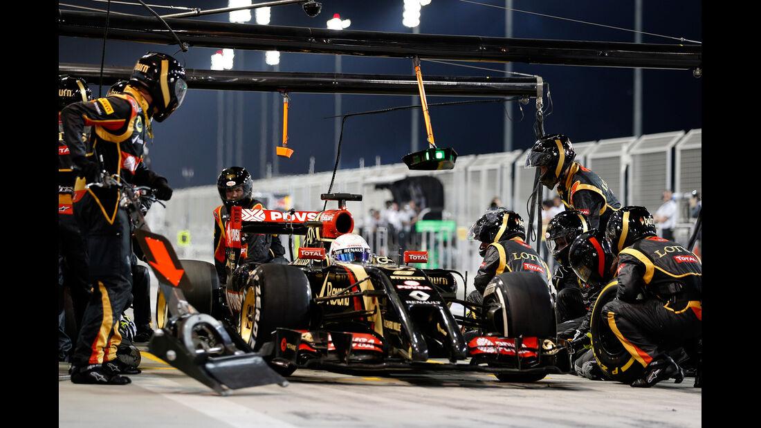 Lotus - GP Bahrain 2014