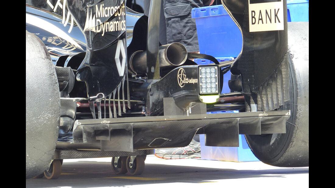 Lotus - GP Bahrain 2014 Technik