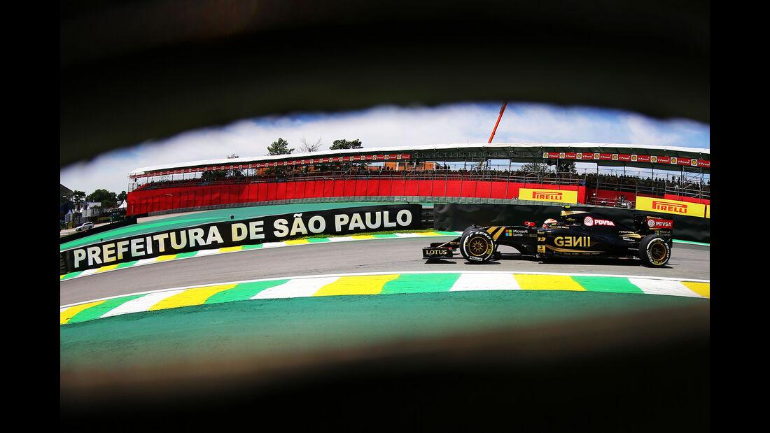 Lotus - GP Brasilien 2015