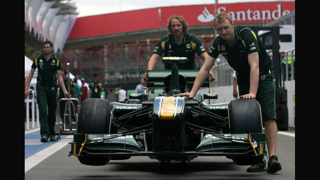 Lotus - GP Brasilien - 24. November 2011