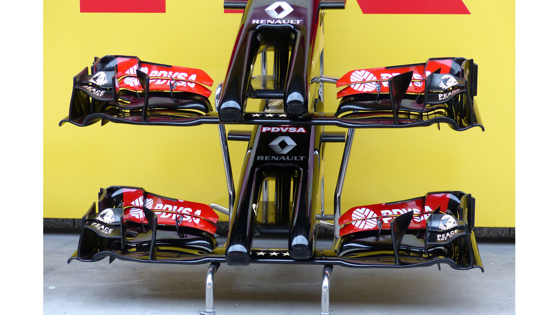 Lotus - GP China 2014 - Technik