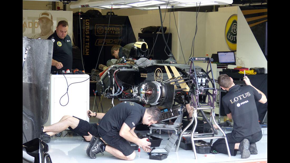 Lotus - GP England - Silverstone - Donnerstag - 2.7.2015