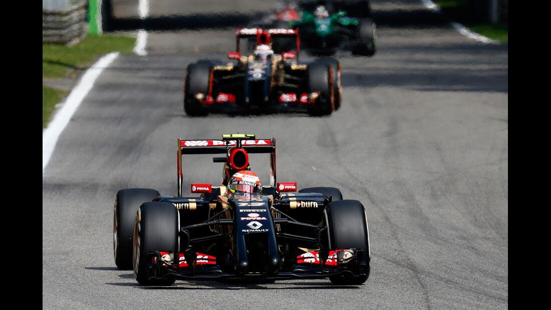 Lotus - GP Italien 2014