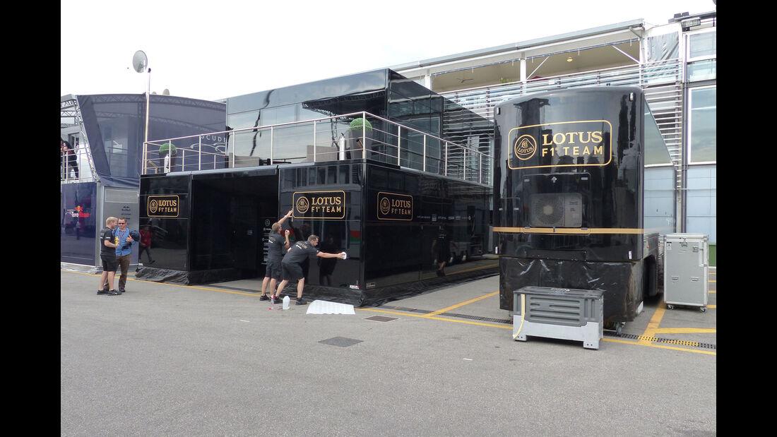 Lotus - GP Italien - Monza - Donnerstag - 3.9.2015