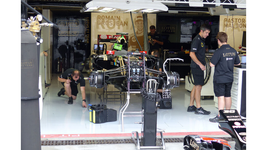 Lotus - GP Italien - Monza - Freitag - 4.9.2015
