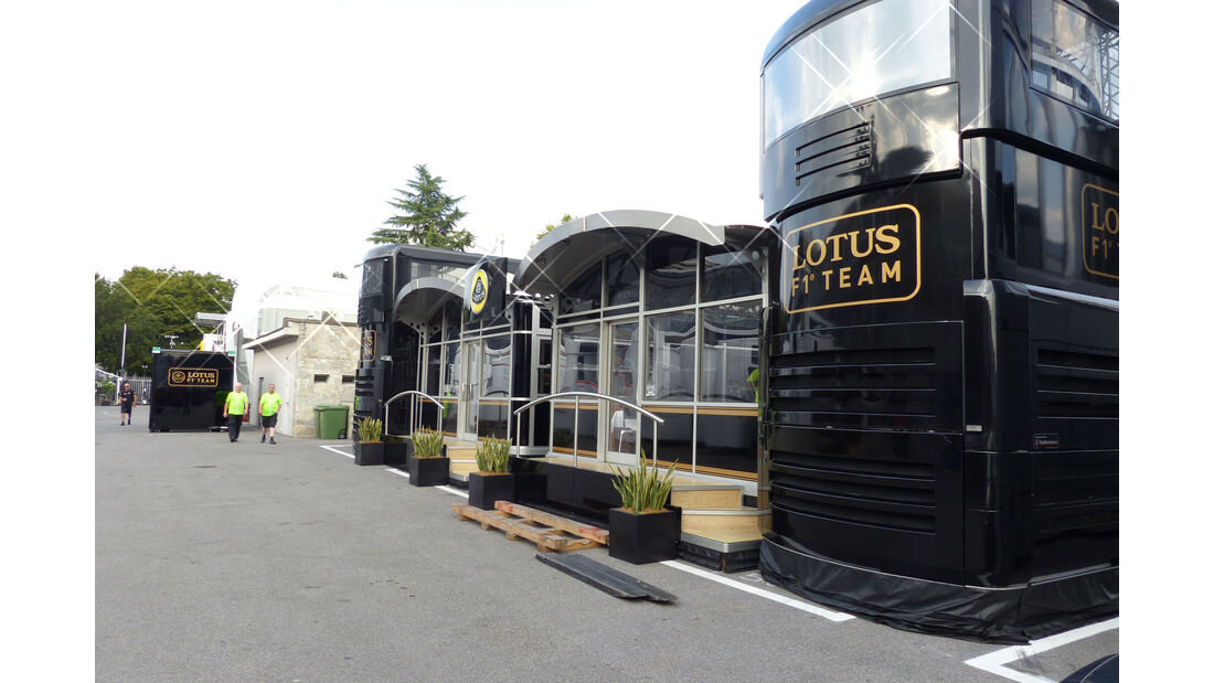 Lotus - GP Italien - Monza - Mittwoch - 2.9.2015
