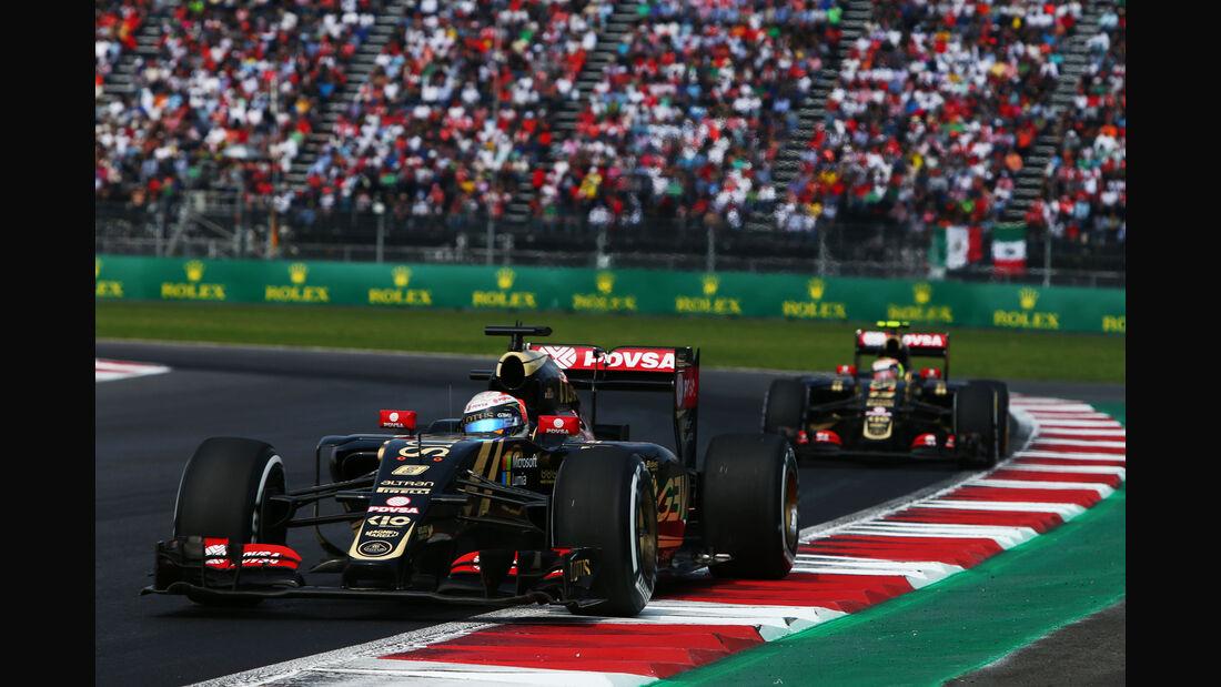 Lotus - GP Mexiko 2015