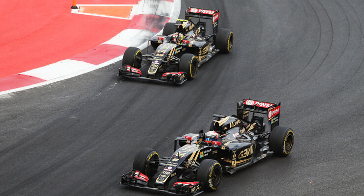 Lotus - GP Mexiko 2015