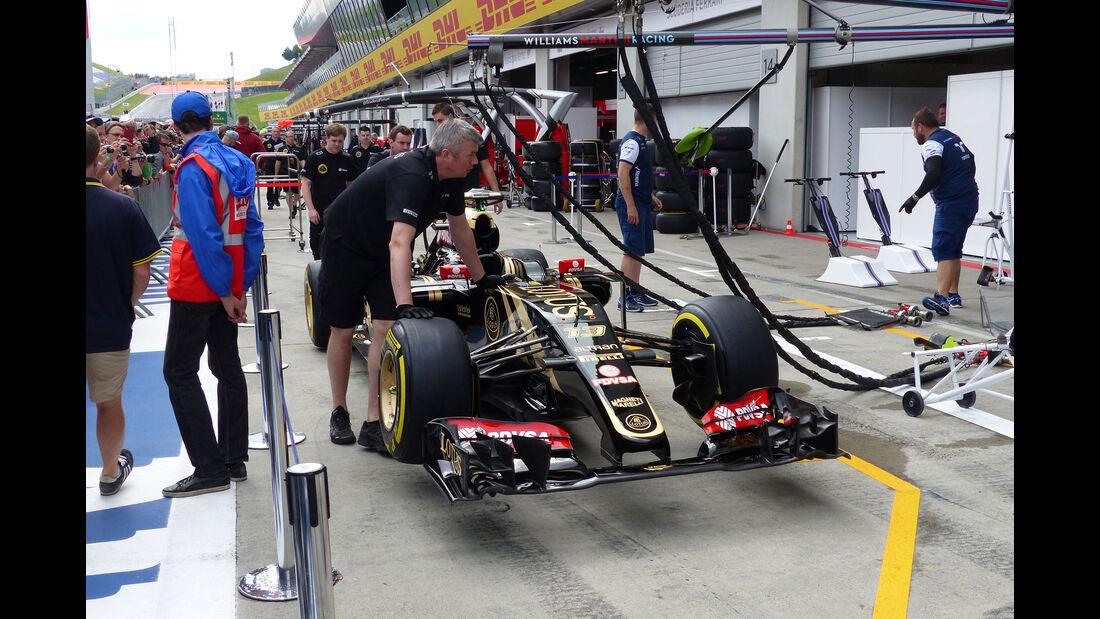 Lotus - GP Österreich - Formel 1 - Donnerstag - 18.6.2015