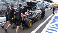 Lotus - GP Russland - Sochi - Freitag - 9.10.2015