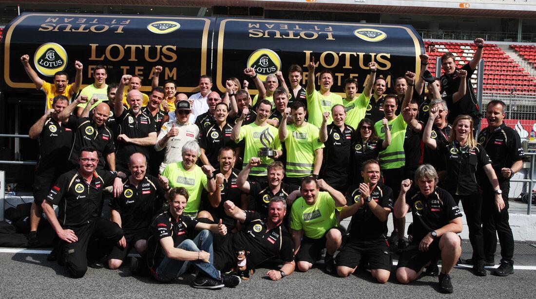Lotus GP Spanien 2012