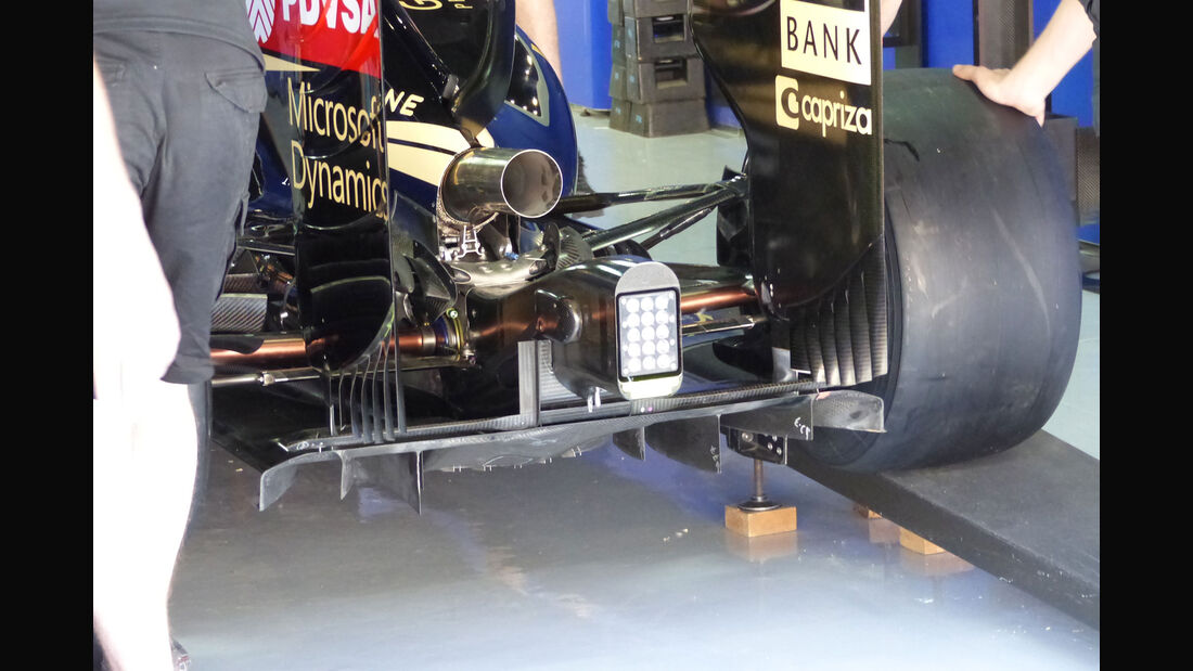 Lotus - GP Spanien - Barcelona - Donnerstag - 7.5.2015