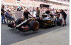 Lotus - GP Spanien - Barcelona - Donnerstag - 7.5.2015
