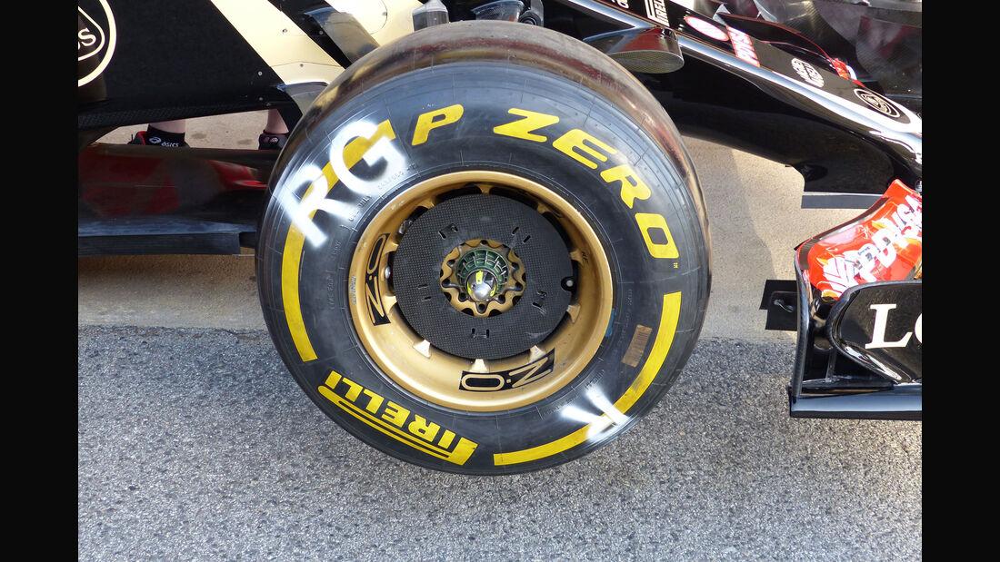 Lotus - GP Spanien - Barcelona - Freitag - 8.5.2015
