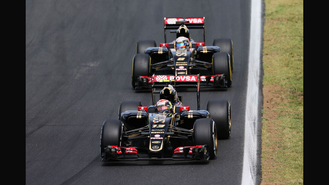 Lotus - GP Ungarn 2015