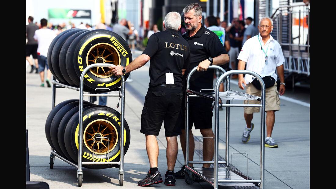 Lotus - GP Ungarn - Budapest - Freitag - 24.7.2015