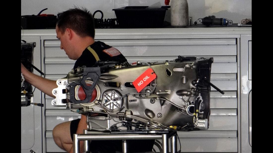 Lotus-Getriebe - GP Spanien - 10. Mai 2012