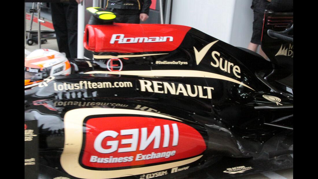 Lotus Grosjean - Formel 1 - GP England - 28. Juni 2013