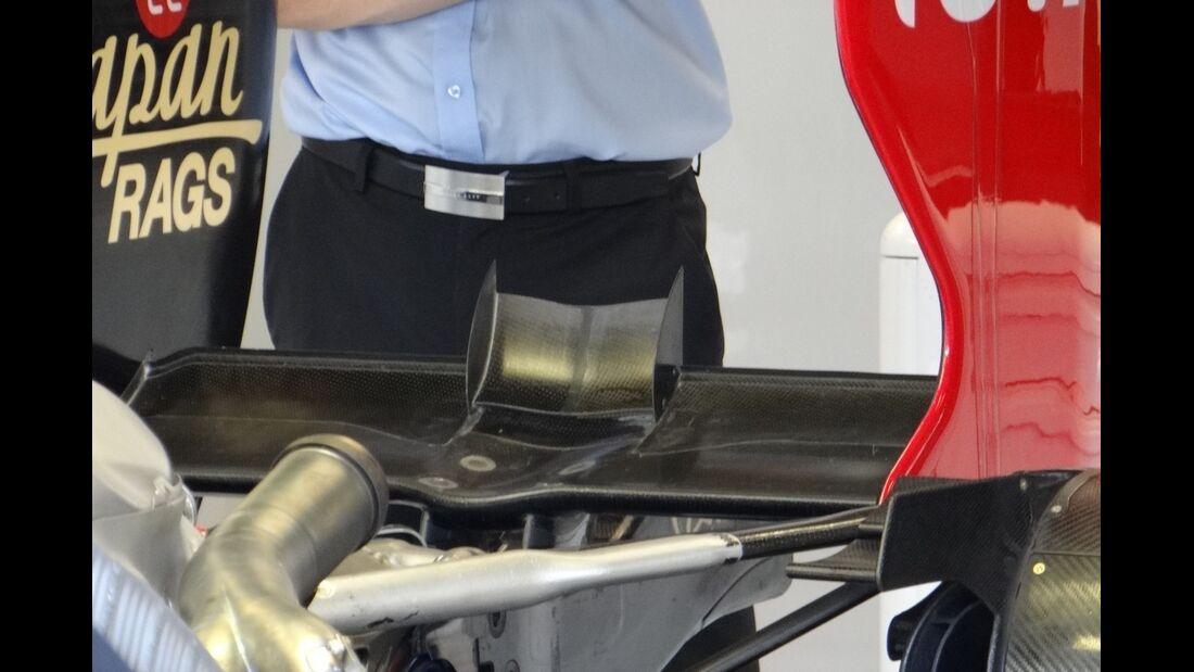 Lotus Heckflügel - Formel 1 - GP Italien - 7. September 2012