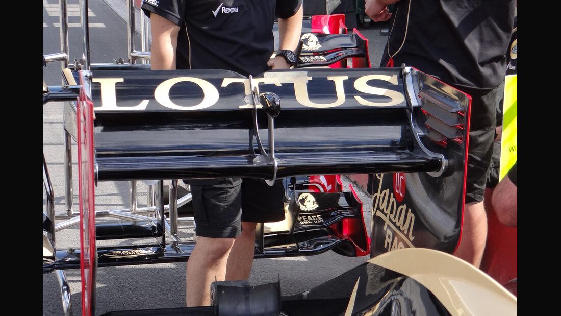 Lotus Heckflügel GP Kanada 2012