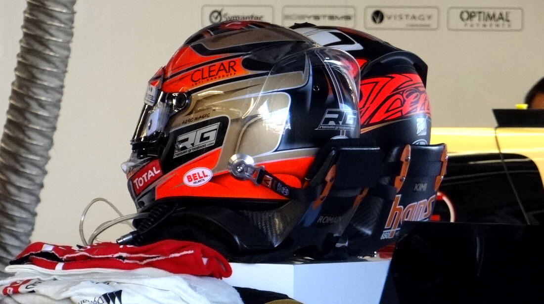 Lotus-Helme - Formel 1 - GP Kanada - 7. Juni 2012