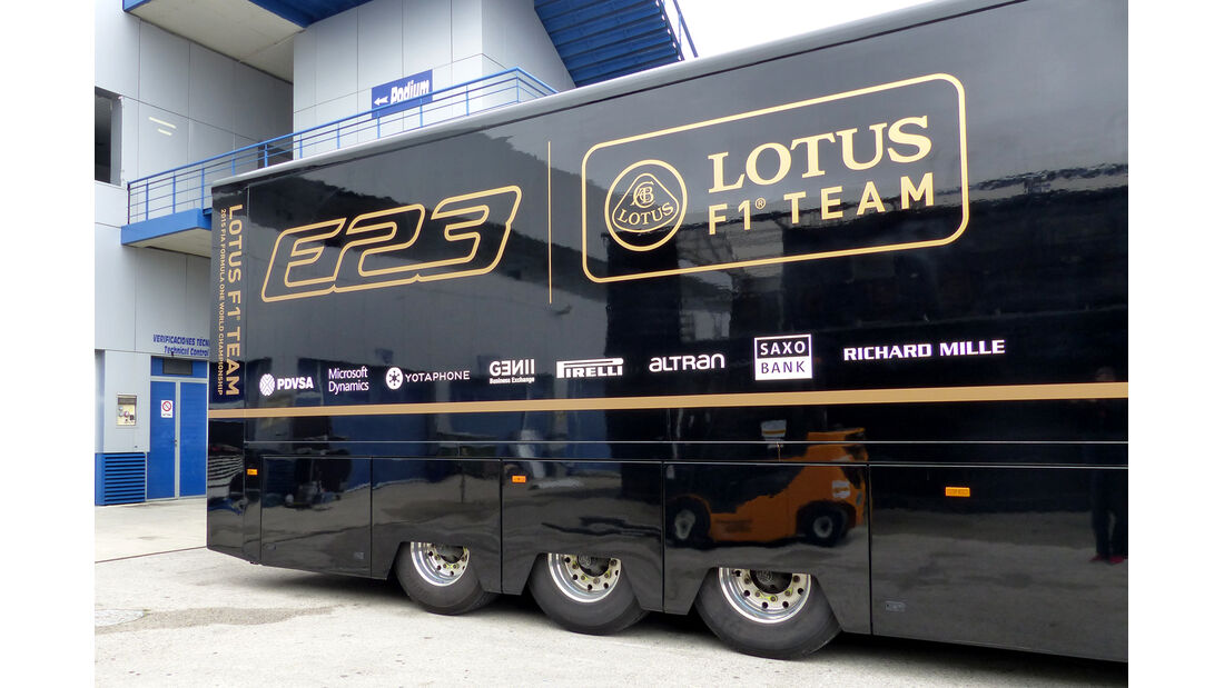 Lotus - Impressionen - Jerez - Formel 1-Test - 30. Januar 2015