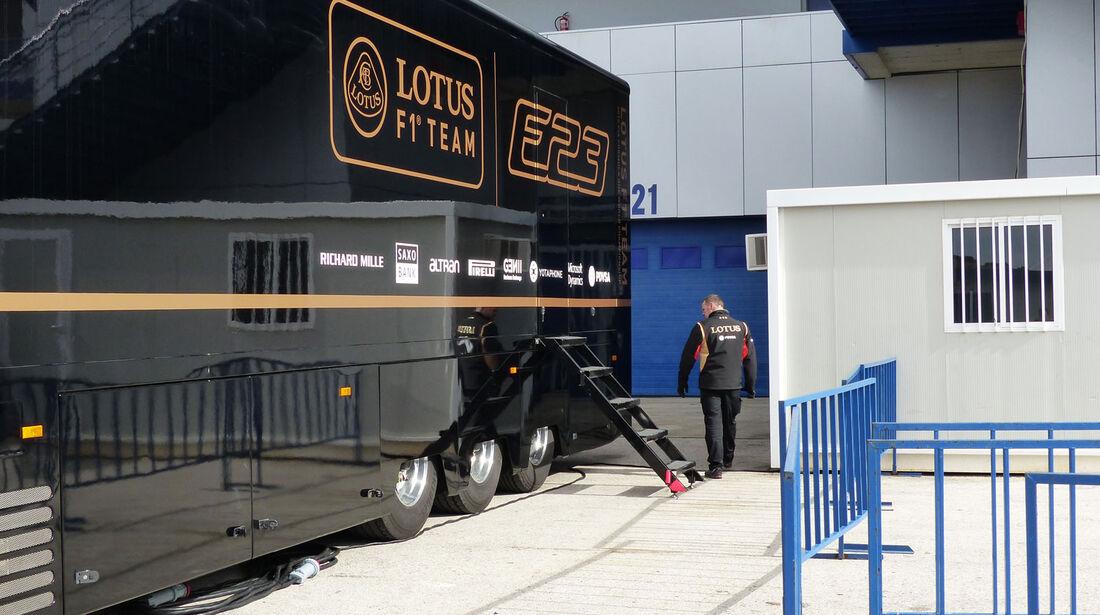 Lotus - Impressionen - Jerez - Formel 1-Test - 31. Januar 2015