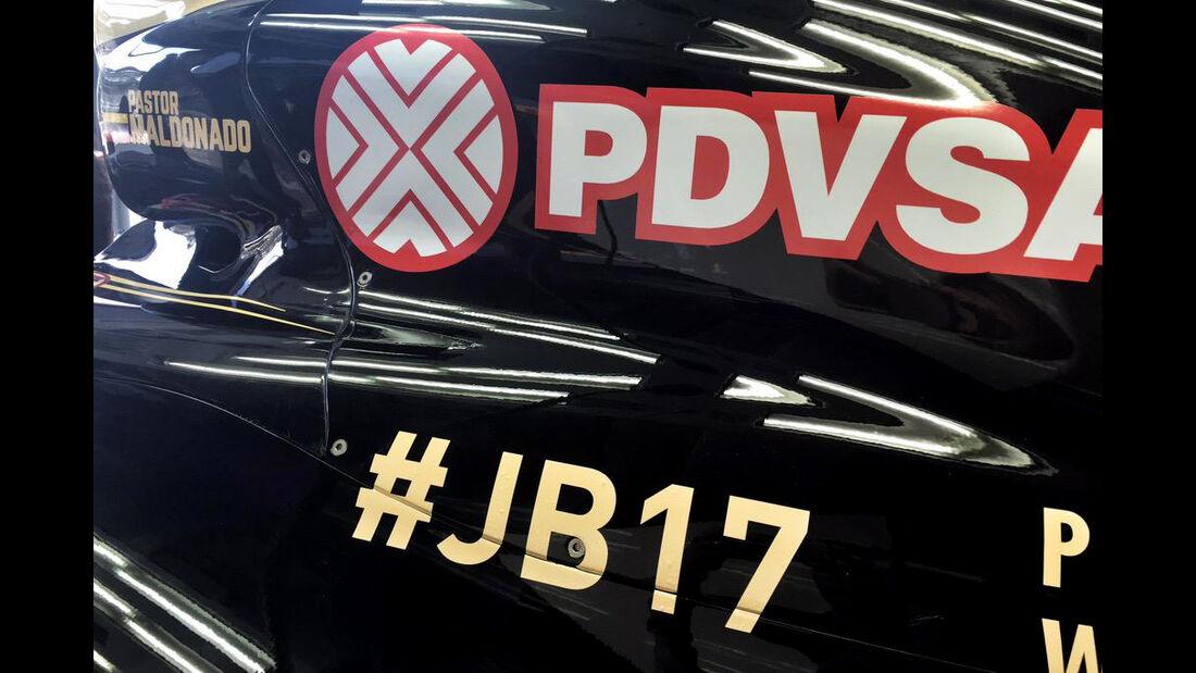 Lotus - Jules Bianchi-Aufkleber - GP Ungarn 2015