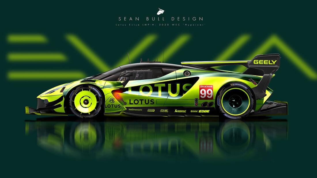 Lotus - Le Mans - Protoyp - Concept - Hypercar / LMDh - Sean Bull