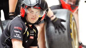 Lotus-Mechaniker GP Bahrain 2012