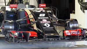 Lotus-Nase - Formel 1 - GP USA - 31. Oktober 2014