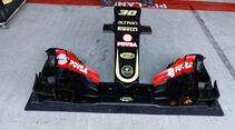 Lotus - Nase - Technik-Update - Abu Dhabi 2015