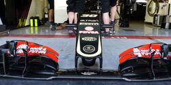 Lotus - Nase - Technik-Update - Abu Dhabi 2015