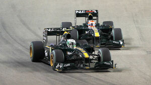 Lotus Racing - GP Singapur 2010