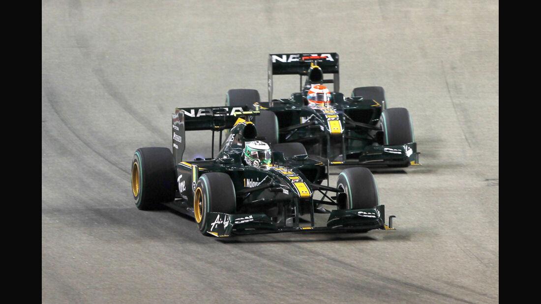 Lotus Racing - GP Singapur 2010