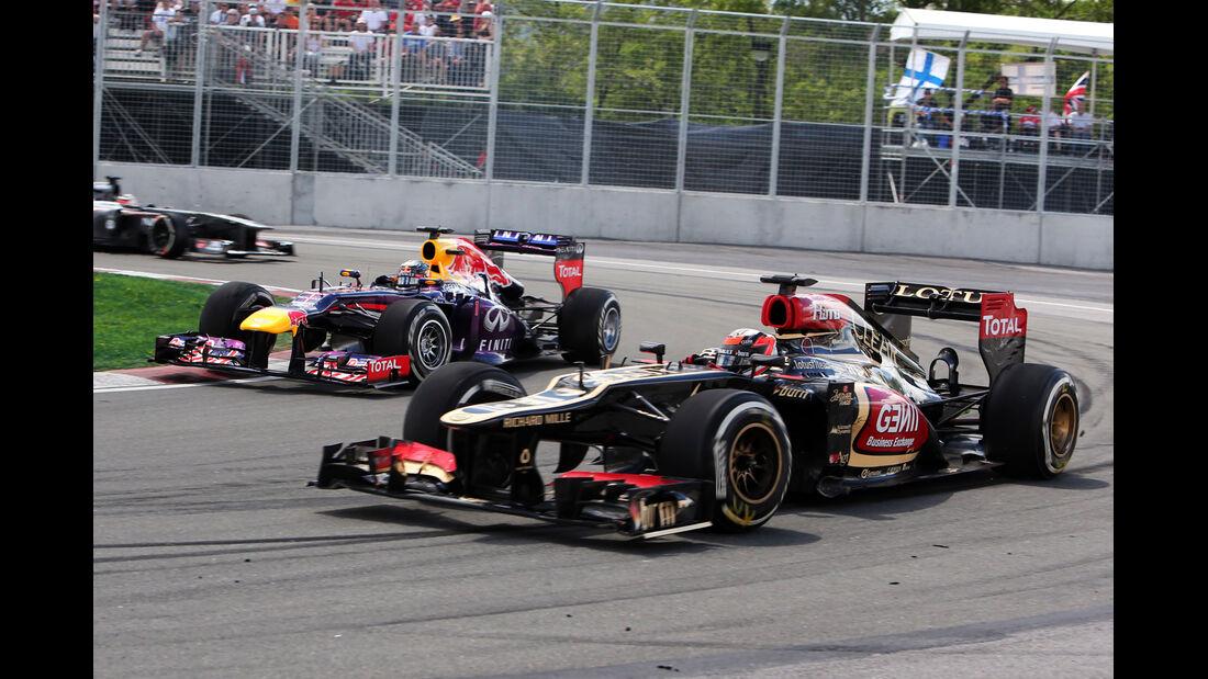 Lotus - Räikkönen - GP Kanada 2013