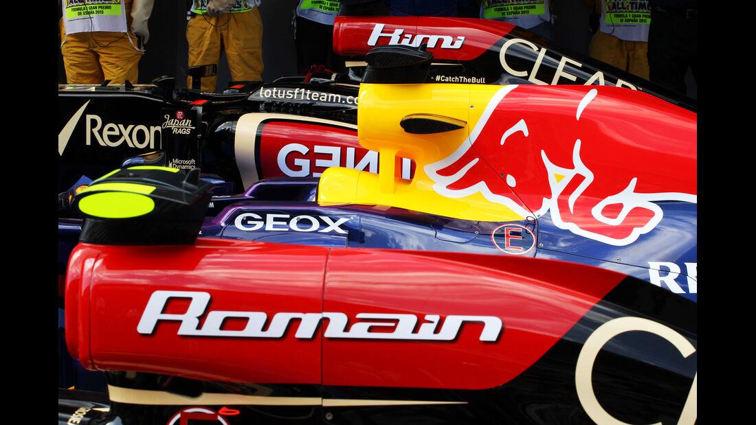 Lotus & Red Bull - Formel 1 - GP Spanien - 11. Mai 2013