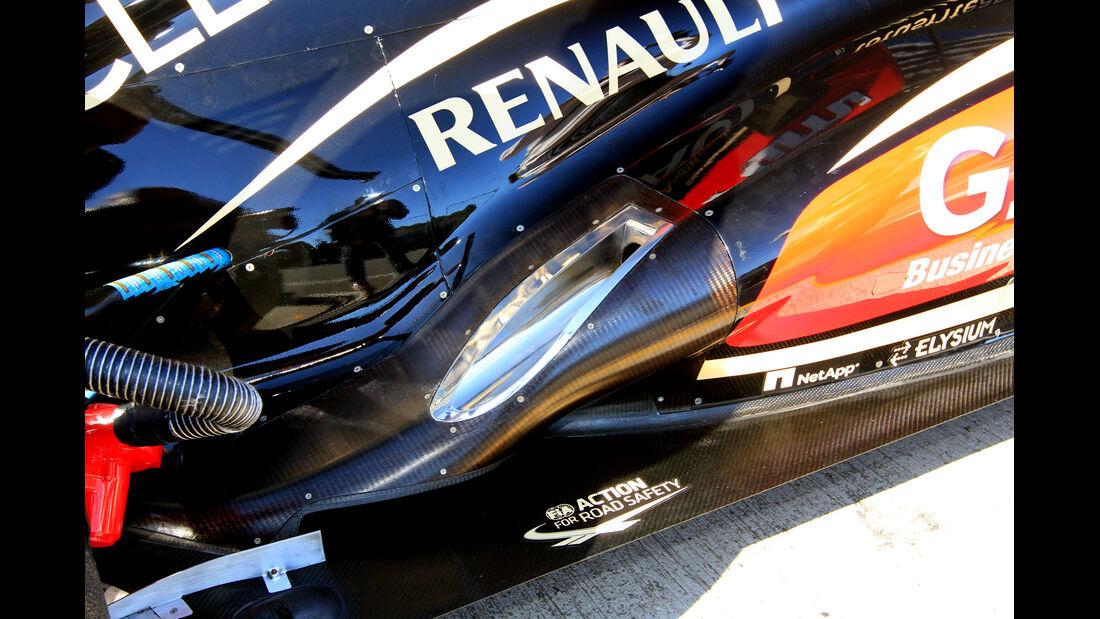 Lotus Renault GP, Formel 1-Test, Jerez, 7.2.2013