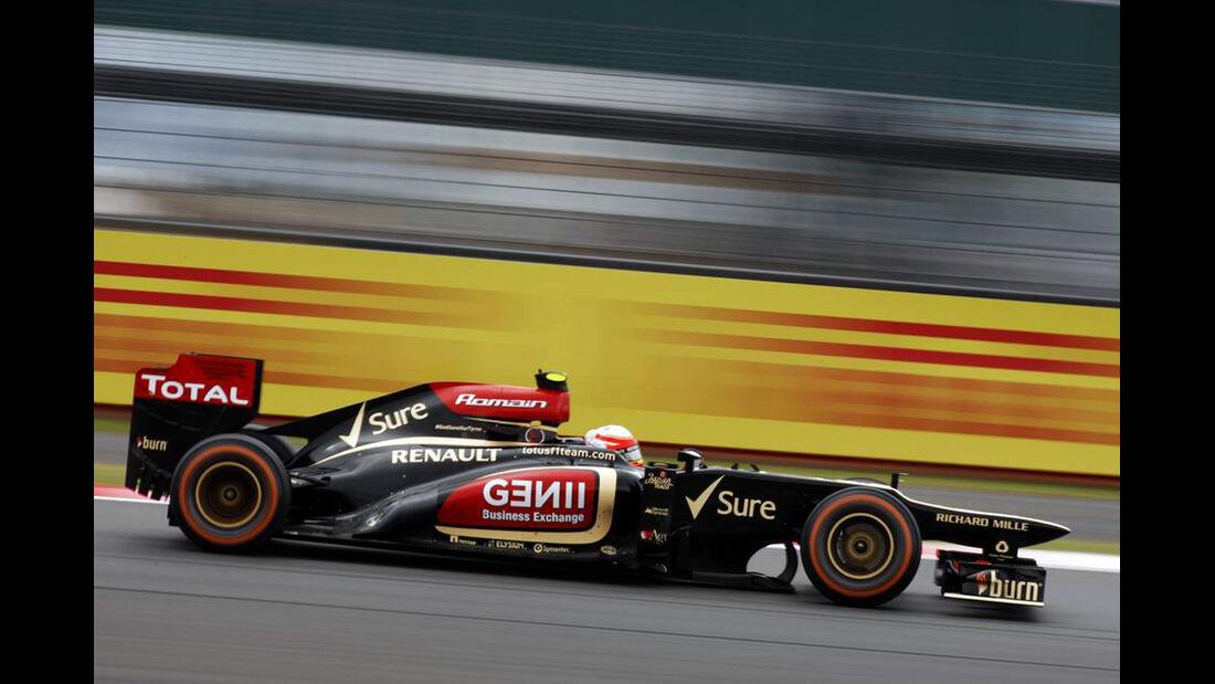 Lotus Romain Grosjean - Formel 1 - GP England - 28. Juni 2013
