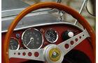 Lotus Seven S1, Lenkrad, Detail