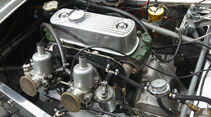 Lotus Seven S1, Motorraum, Detail