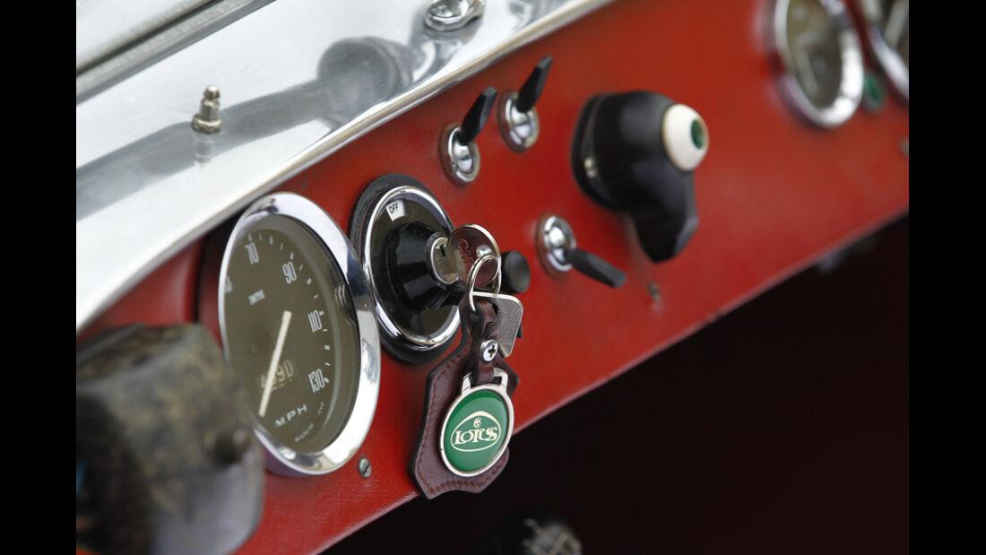 Lotus Seven S1, Schlüsselloch, Autoschlüssel, Detail