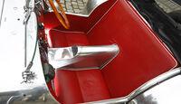 Lotus Seven S1, Sitzbank, Detail
