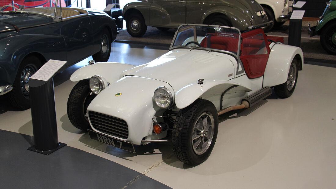 Lotus Seven S3 im British Motor Museum
